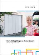 Brochure Normstahl Entrematic zijdelingse sectionaaldeur 2014