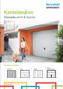 Brochure Normstahl kanteldeuren - voorkant