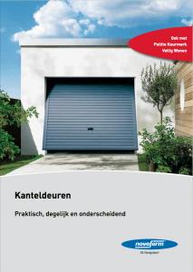 Brochure Novoferm Kanteldeuren - Van IJperen Garagedeuren