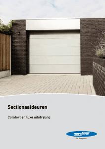 Brochure Novoferm Sectionaaldeuren - Van IJperen Garagedeuren