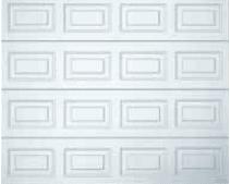 Profilering - Sectionale garagedeur - model Cassette, Glad en Houtfolies - Van IJperen Garagedeuren
