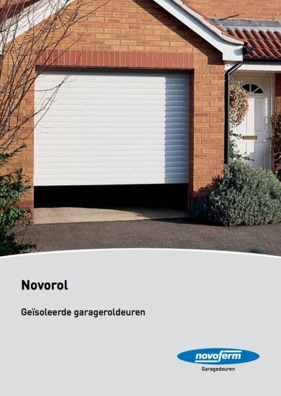 Brochure Novoferm Novorol, Geïsoleerde Garageroldeuren - Van IJperen Garagedeuren