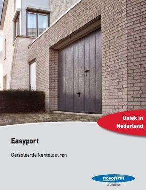 Brochure Novoferm Easyport, Geïsoleerde Kanteldeuren - Van IJperen Garagedeuren