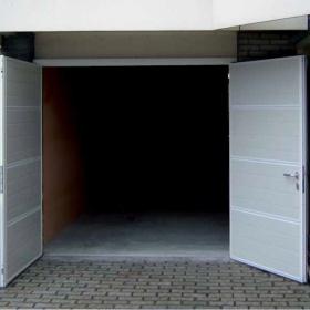 Novoferm Duoport - Geïsoleerde openslaande deuren - Van IJperen Garagedeuren