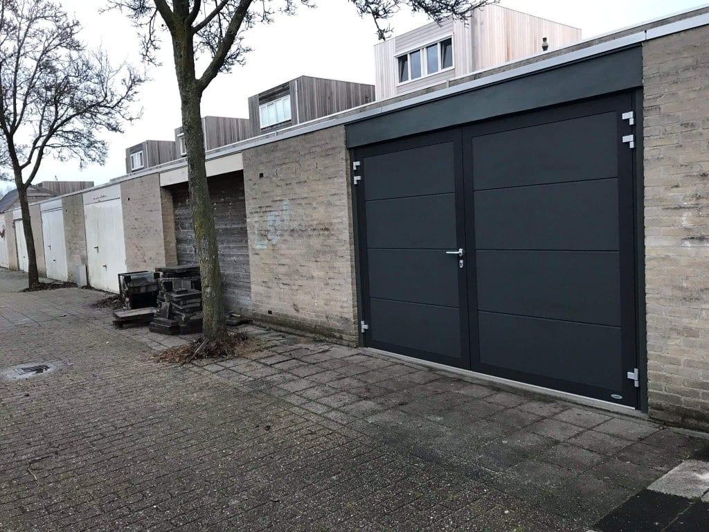 Novoferm Duoport Alphen ad Rijn, horizontaal vlak Satin Dark-Grey, 122018
