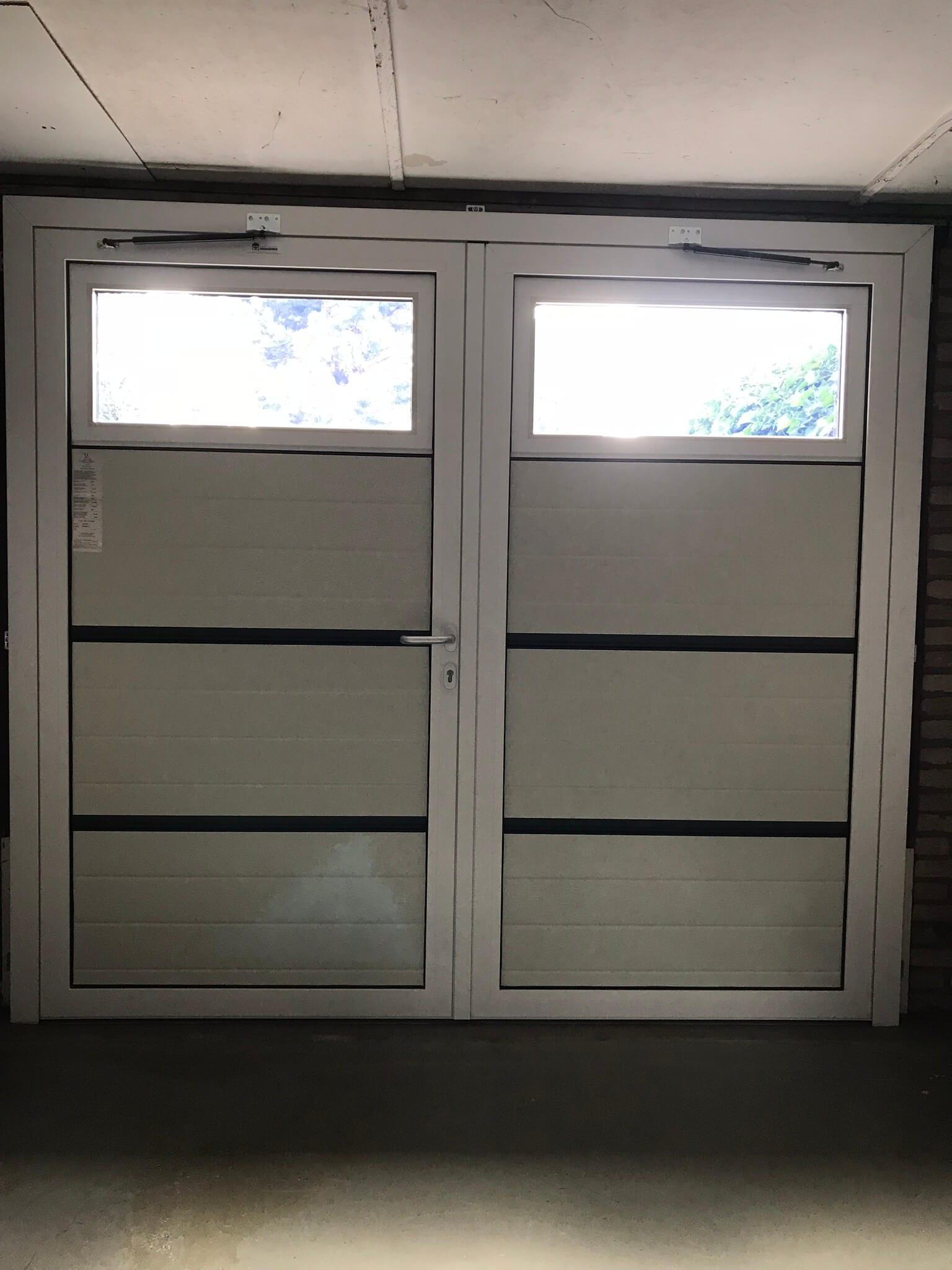 Novoferm Duoport vensters binnenzijde