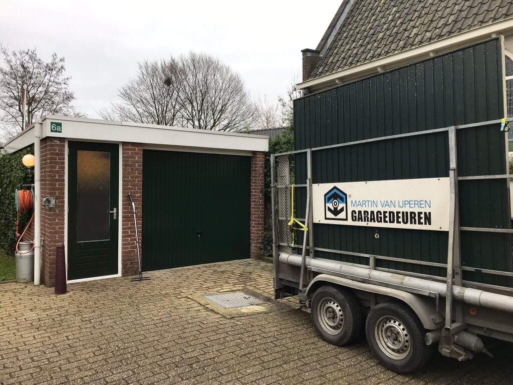Novoferm kanteldeur, Zwammerdam ,RAL 6009, 012019