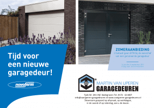 Zomeractie 2019 Van IJperen Garagedeuren