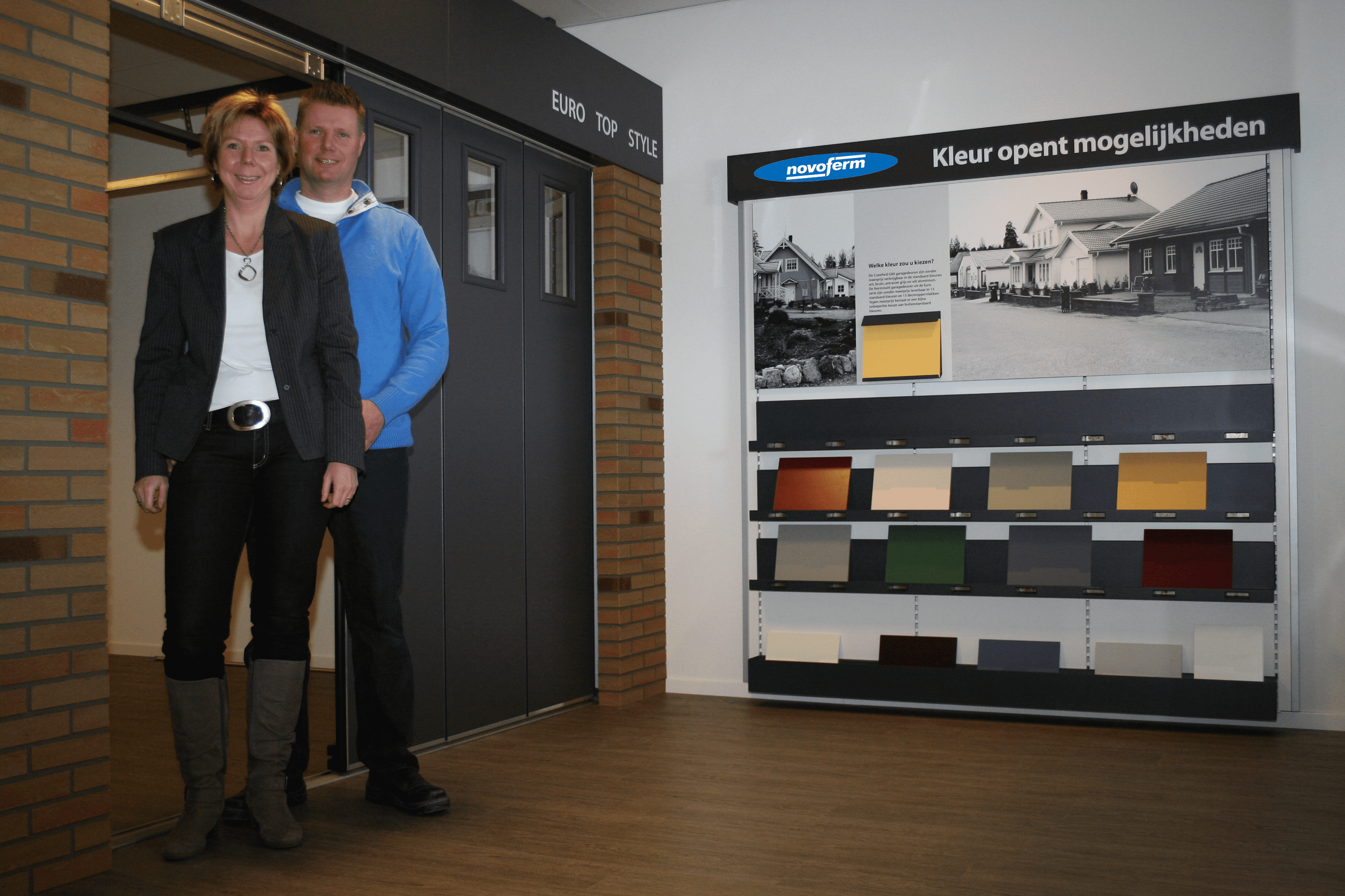 Showroom Martin & Karin van IJperen Garagedeuren